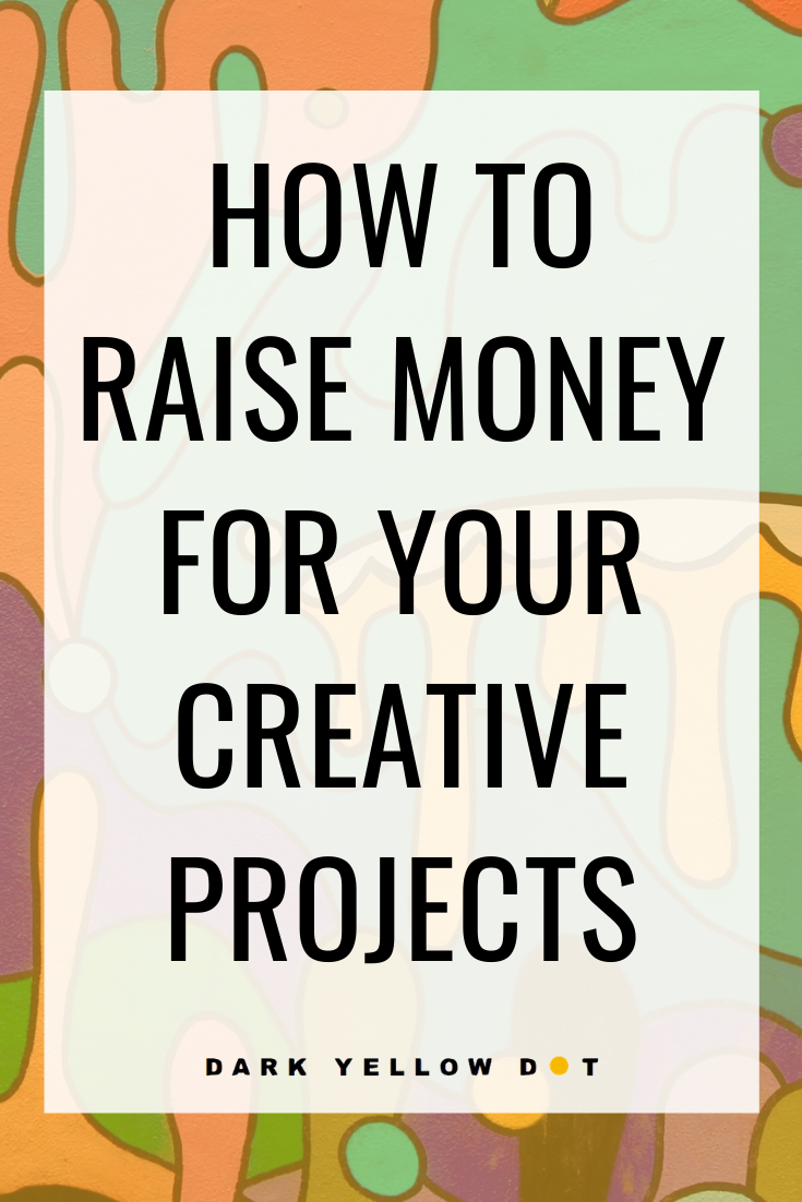 make money with creative projects dark yellow dot