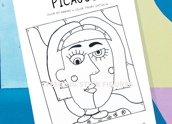 Picasso Colour Theory Activity Sheet