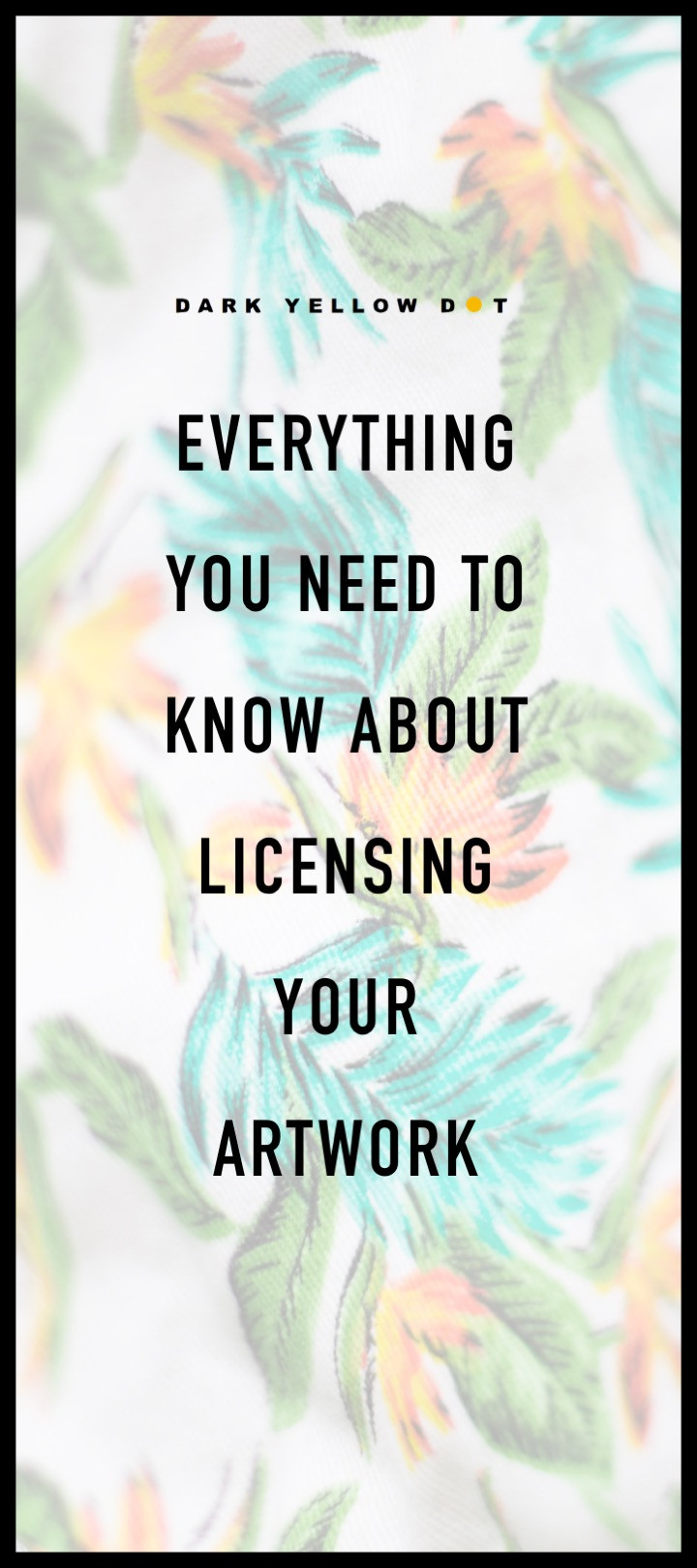 how to license your art