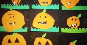 Halloween Pumpkin Collage