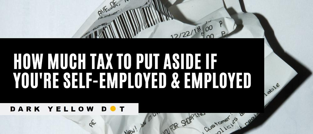 how much tax to pay as an artist - dark yellow dot