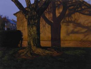 Ash Wednesday: 8:00 am, George Shaw - Adrian Coleman - Dark Yellow Dot