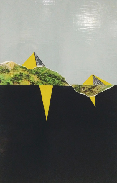 Analogue Collage & Acrylic on Board