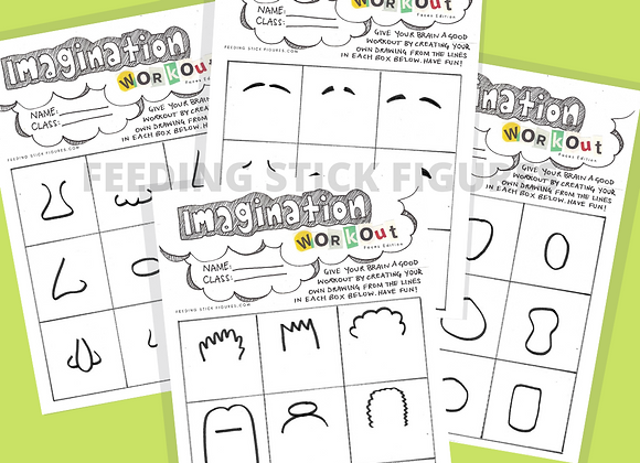 Imagination Workout: Faces Edition