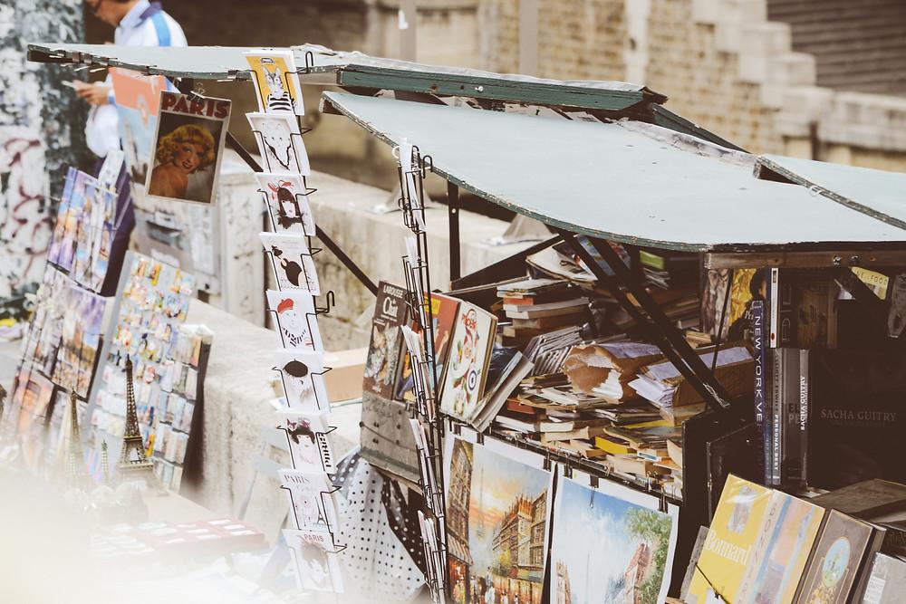 selling at art markets