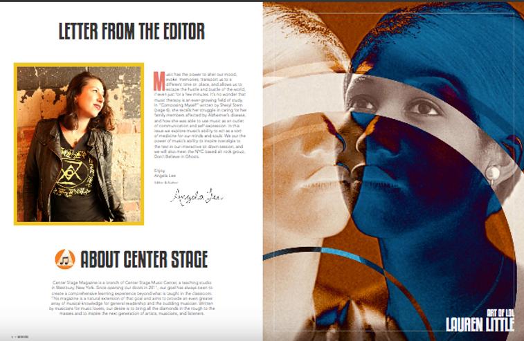 Lauren Little Artist feature Center Stage Music Magazine