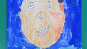 Mixed Media Self-Portraits: Part 2