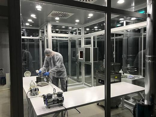 STR Biyoteknolojileri Temiz Oda şartlarında PRP CGF PRF ve Stemcell Üretimi