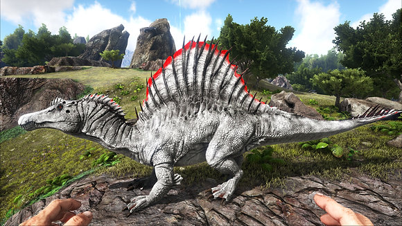Lvl 350+ Abberant Spino + High Armor Saddle