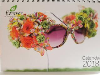 florever2018年カレンダーの表紙になりました