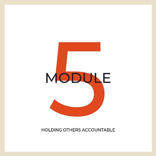 Module 5 PDF Handout