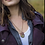 Thumbnail: ABALONE SHELL NECKLACE – EARTHY COLORS