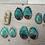 Thumbnail: BLUE ABALONE SHELL EARRINGS (LARGER)