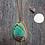 Thumbnail: LARGE ABALONE SHELL NECKLACE, REVERSIBLE PENDANT