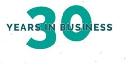 30 years in business