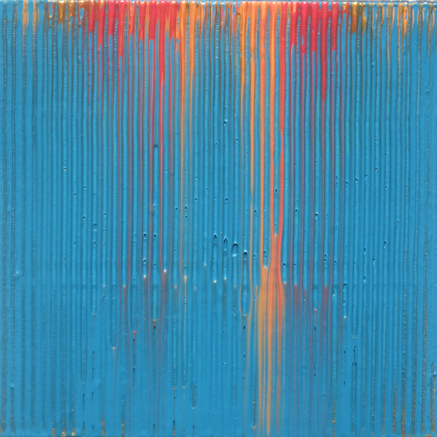 "8""h x 8""w, acrylic on canvas"