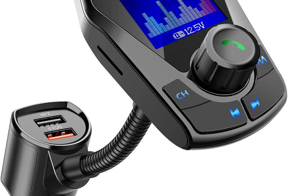KM24 Color Bluetooth FM Transmitter