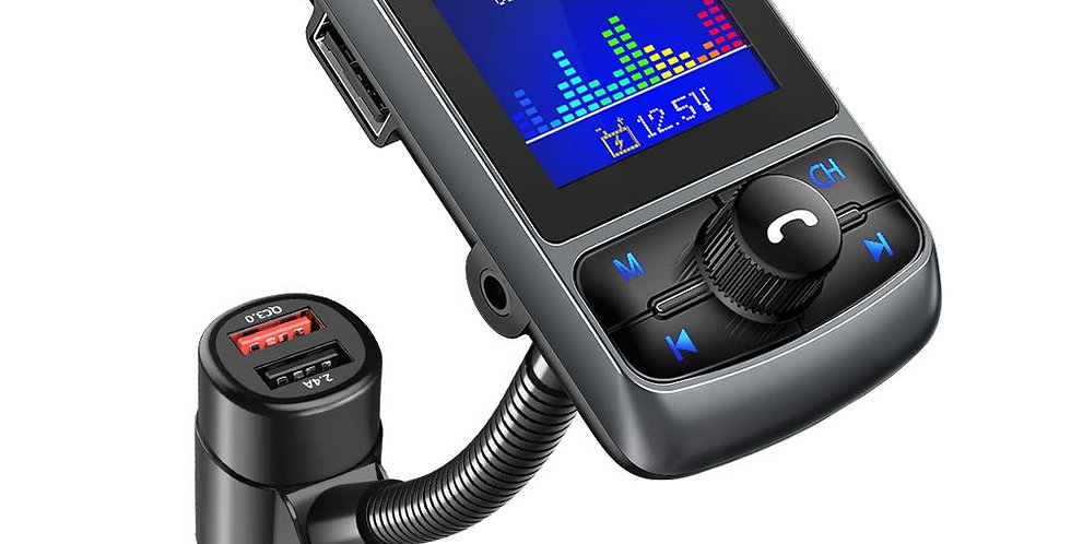 KM35 Bluetooth FM Transmitter