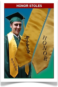 Graduation Honor Stoles from Senior Class Graduation Products