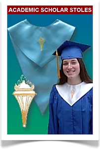 Stoles for honor society graduates from Senior Class Graduation Products