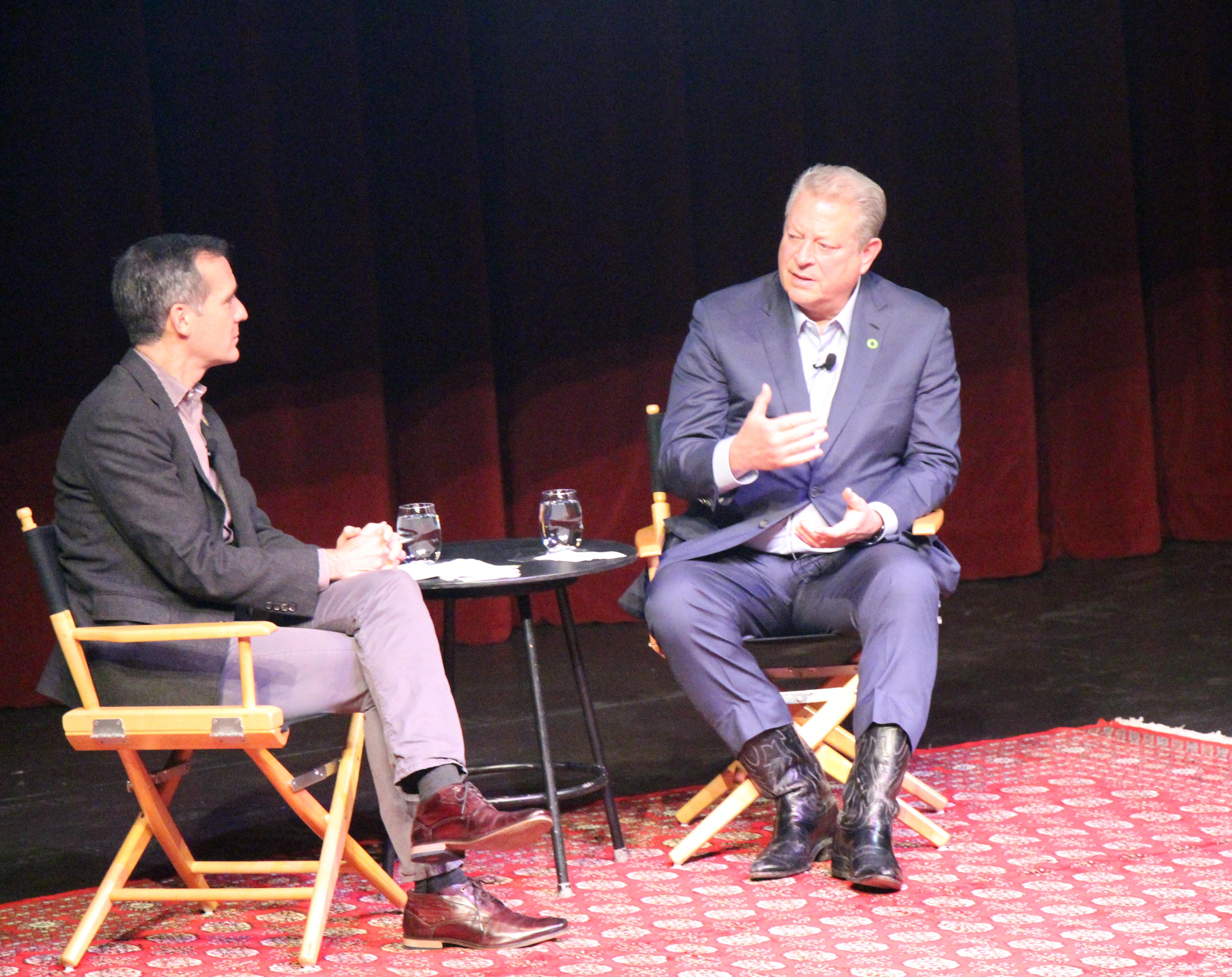 Al Gore and Mayor Garcetti