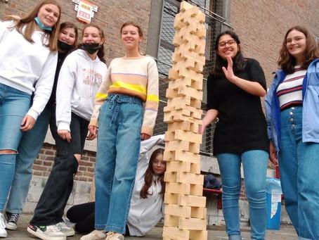 Hasp-O Centrum: 3e-jaars op teambuilding & ICT-les