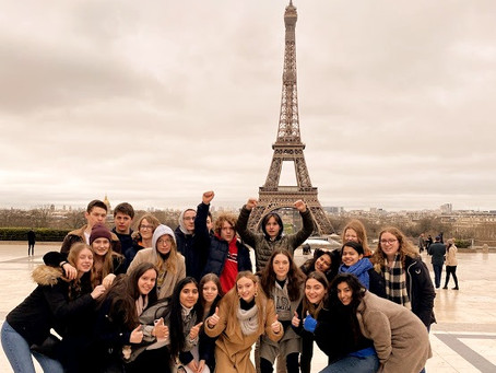 Hasp-O Centrum op stap: 4e-jaars @ Parijs