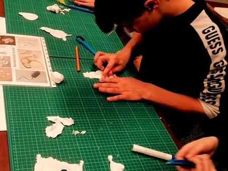 Hasp-O Centrum creatief in het atelier BEELD