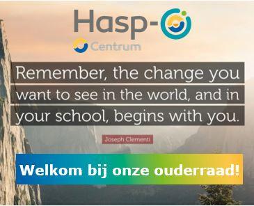 Welkom bij de ouderraad van Hasp-O Centrum!