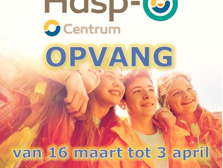Wij zorgen voor opvang in Hasp-O Centrum