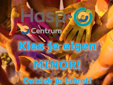 Kies je Minor(s) @ Hasp-O Centrum