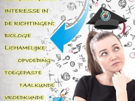 Studiekeuze hoger onderwijs: oud-leerlingen gezocht!