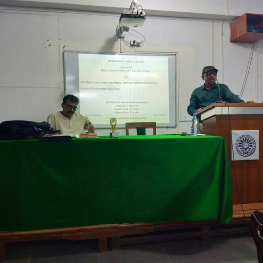 Seminar  on 21.09.19 Dept. of History.jp