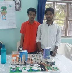 Students_ participated in model presenta