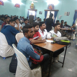 Students_ participated in a quiz competi