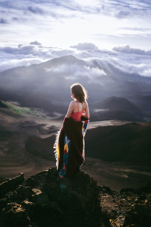 skylar marks model christopher james photographer photography haleakala summit maui hawaii fashion travel hike
