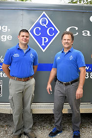 Bradley and Randy Renaker, Journeyman and Master Cleaning Technicians, IICRC