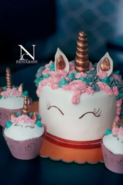 Danys Cupcakery Einhorn Torte