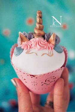 Danys Cupcakery Einhorncupcake