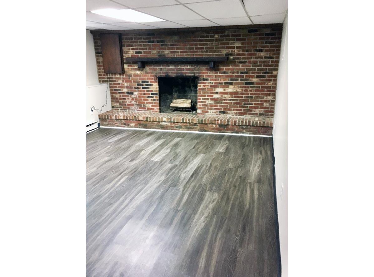 Basement/Fireplace