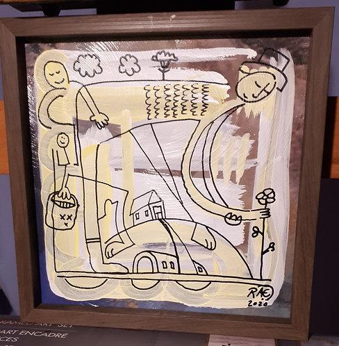Flower farm 10x10 framed