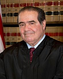 "Antonin ""I'm the judge"" Scalia"