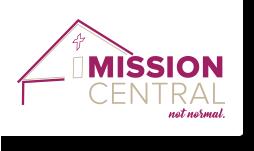 Mission Central logo for international m
