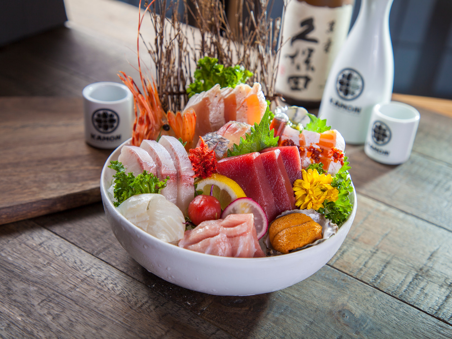 Kamon sashimi