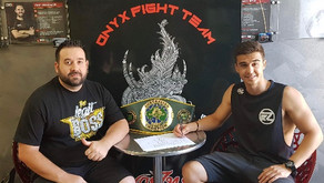 Australian Featherweight Champion 'ACTION' JACKSON ENGLAND links up with Dragon Fire Boxing