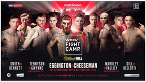 Eggington & Cheeseman Look To 'Cook Up A Storm' As Fight Camp Launches