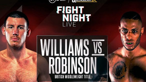 Preview: Liam Williams aims to make a statement against Andrew Robinson