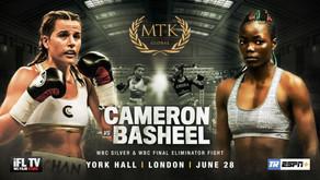 CAMERON'S WBC FINAL ELIMINATOR IN LONDON