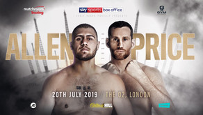 ALLEN AND PRICE COLLIDE IN HUGE DOMESTIC SHOWDOWN AT THE O2