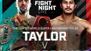 Fight Card Preview: Josh Taylor Defends World Titles Against Apinun Khongsong